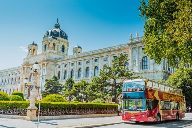 Panoramica del autobus turistico de viena