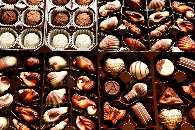 Tour del chocolate en Bruselas