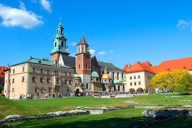 Entradas al castillo de Wawel en Cracovia