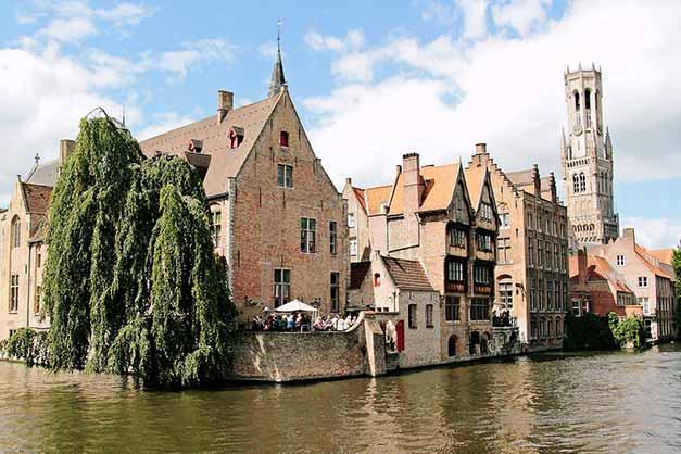 Excursión a la ciudad medieval de Brujas desde Bruselas
