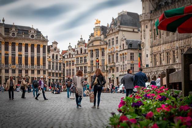 Excursión de Ámsterdam a Bruselas