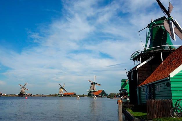 Excursión a los molinos de Zaanse Schans desde Ámsterdam