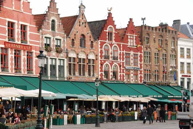 Imagen de una excursión a Brujas y Gante desde Bruselas.