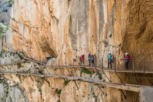 Excursión al Caminito del Rey desde Málaga, un tour imprescindible