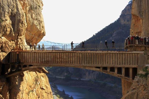 Las mejores ofertas de excursión y visita guiada por el Caminito del Rey de Málaga