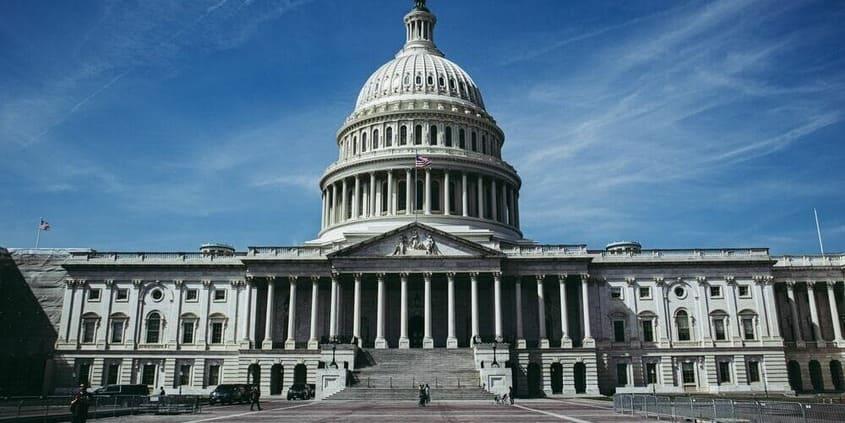 Imagen del capitolio durante una excursion a Washington desde Nueva York