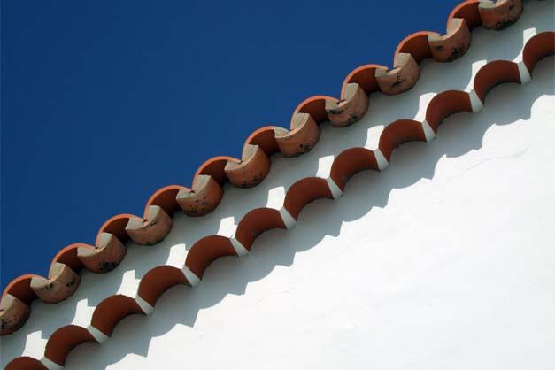 Una casa en Caleta de Sebo en la excursión a La Graciosa desde Lanzarote.