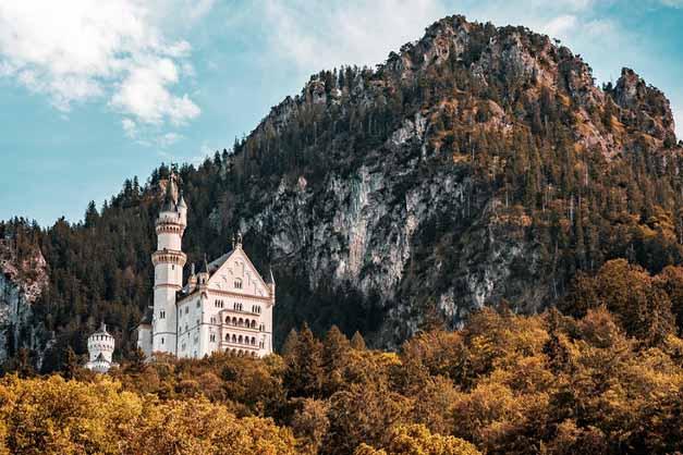 Vista de la excursión a Neuschwanstein desde Múnich.