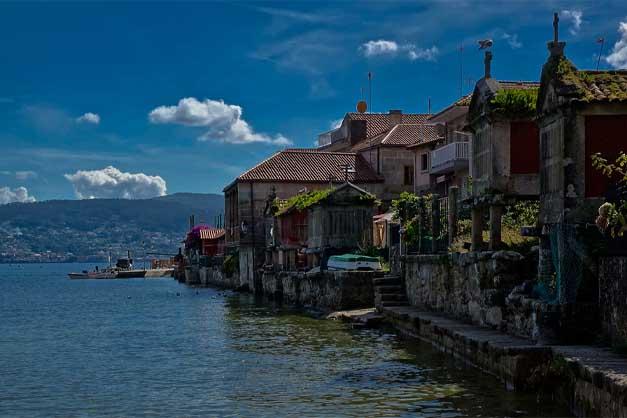 El pueblo de Combarro en la excursión a las Rías Baixas desde Santiago de Compostela