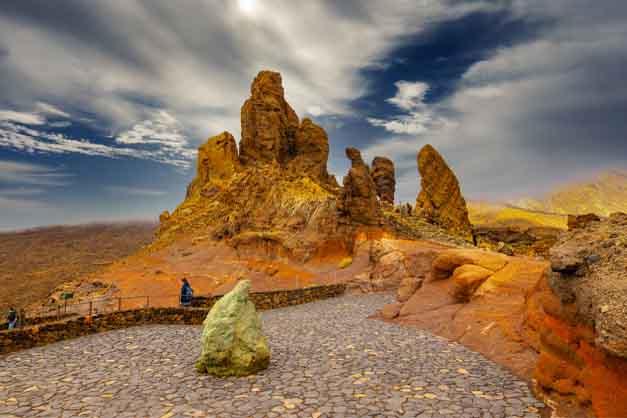 Roques de las excursiones a las Cañadas del Teide.
