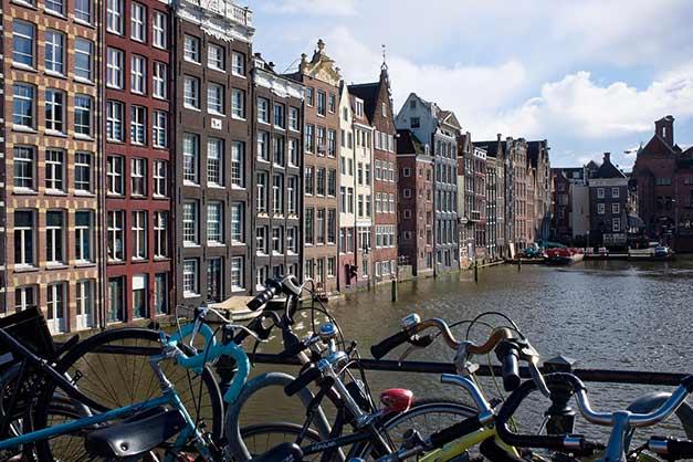 Paseo durante un Tour gratis por Ámsterdam