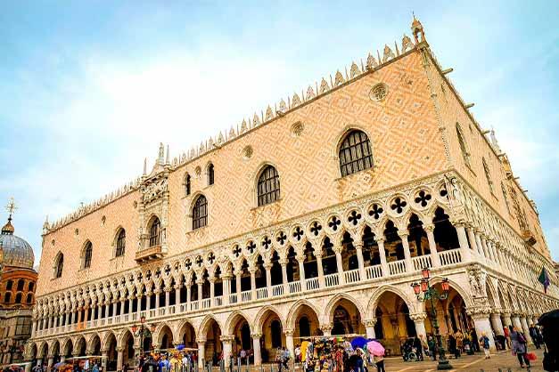 Plaza de San Marcos durante un tour gratis por Venecia