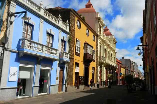 Las fachadas que se pueden ver en un Free Tour por La Laguna
