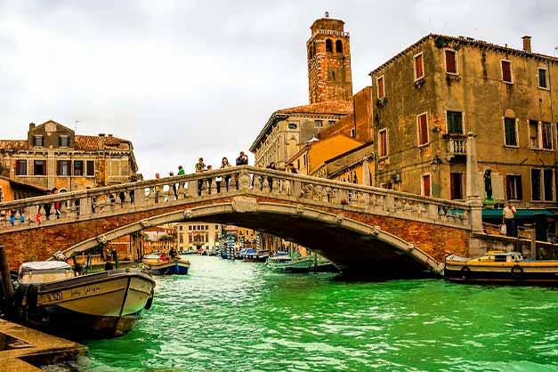 Paseo durante un free tour por Venecia completamente gratis