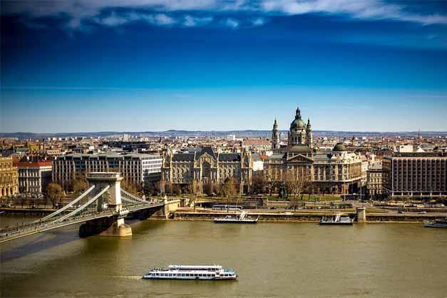 El Puente de las Cadenas en el Free Tour por Budapest.