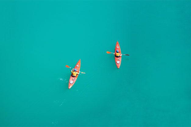 Excursiones en Kayak en Fornells de Menorca.