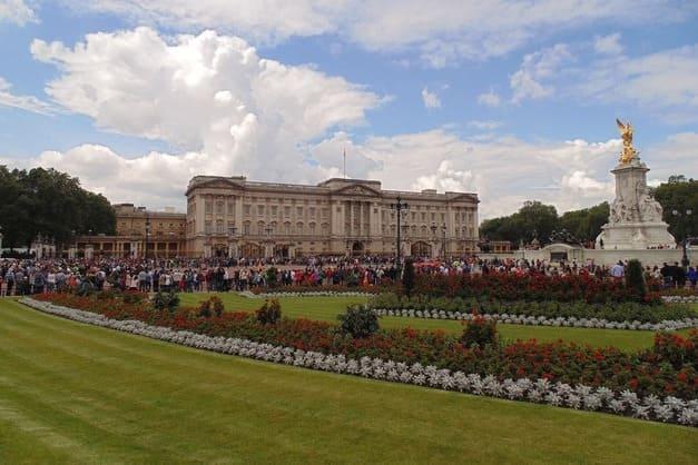 Jardínes de la Reina del palacio de Buckingham.