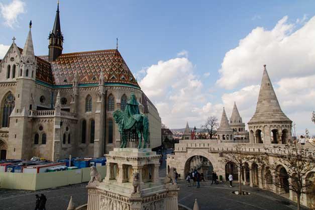 Tour por el Castillo de Buda.