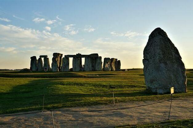 Vistas del círculo de piedra durante el tour de Londres a Stonehenge.