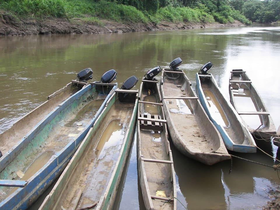 Excursión a una aldea embera en Panamá