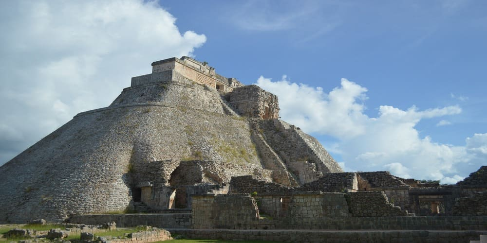 Uxmal puede presumir de tener una de las pirámides más espectaculares del mundo