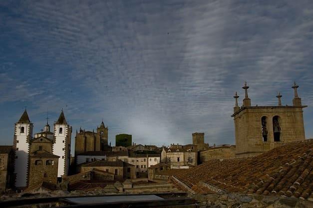 Visita guiada en Cáceres de noche